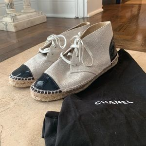 Chanel Espadrille Sneakers